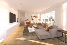 Multivision 3D - De meeris artist impression interieur appartement 1