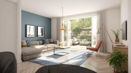 Artist Impression woningen interieur