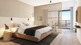 interieur impressie - Hotel De Blanke Top - kamer 5