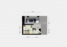 sfeerplattegrond verdieping -1