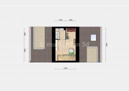 sfeerplattegrond verdieping 2