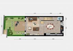 sfeerplattegrond verdieping 0