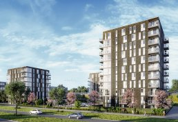 Artist Impression Tinggy Towers Almere