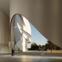 Architectuur visualisatie