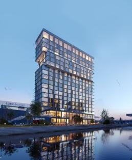 3D visualisatie Hotel De Veste