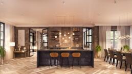 3D Visualisatie - keuken